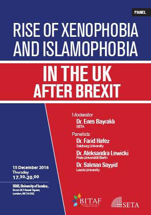 Rise of Xenophobia and Islamophobia in the UK after Brexit