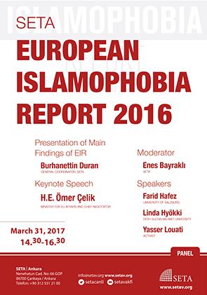 SETA European Islamophobia Report 2016