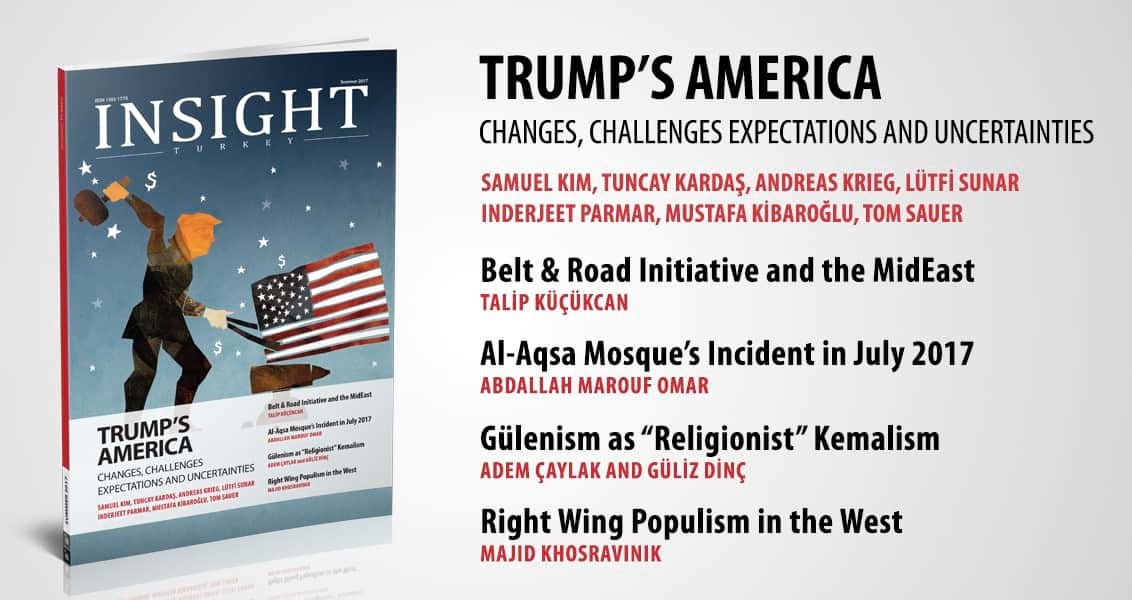 """Trump's America"" – The Latest Issue of Insight Turkey Is Published"