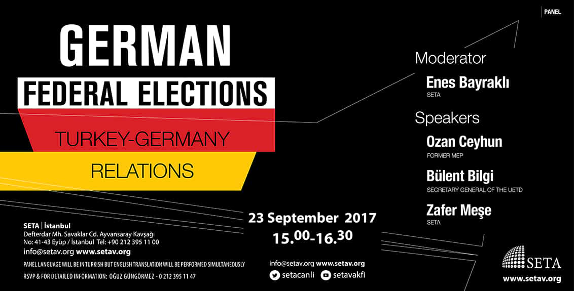 German Federal Elections & Turkey-Germany Relations