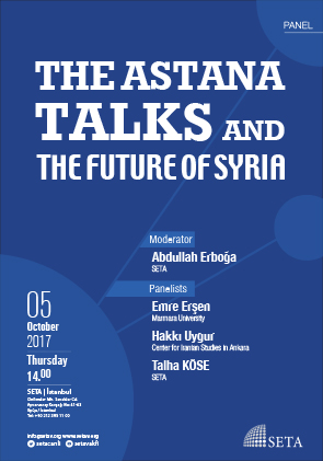 The Astana Talks and The Future of Syria