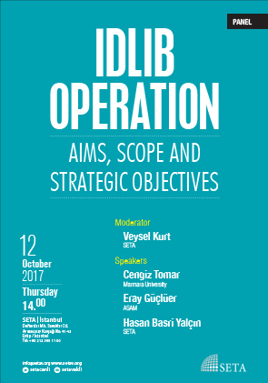 Idlib Operation: Aims, Scope and Strategic Objectives