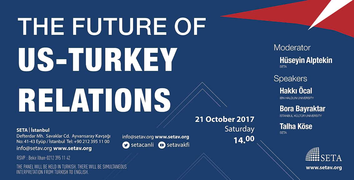 The Future of US-Turkey Relations