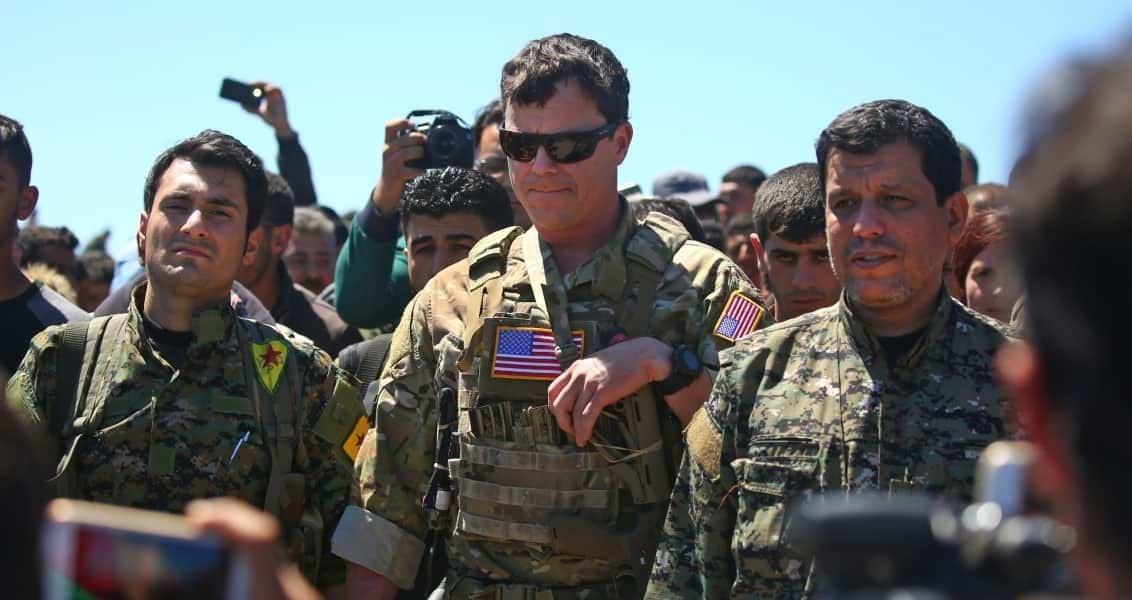 PKK, YPG, US Army