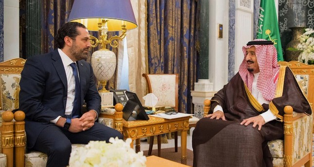 Saad Hariri and King Salman