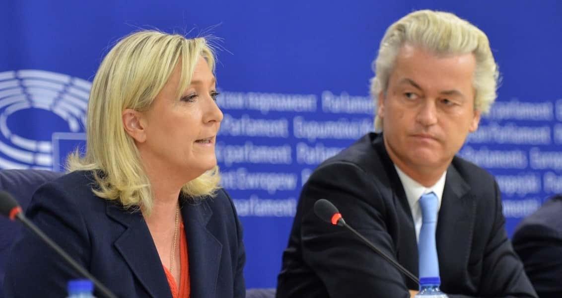 Geert Wilders - Marine Le Pen