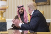 Mohammad bin Salman Al Saud - Donald Trump meeting in Washington