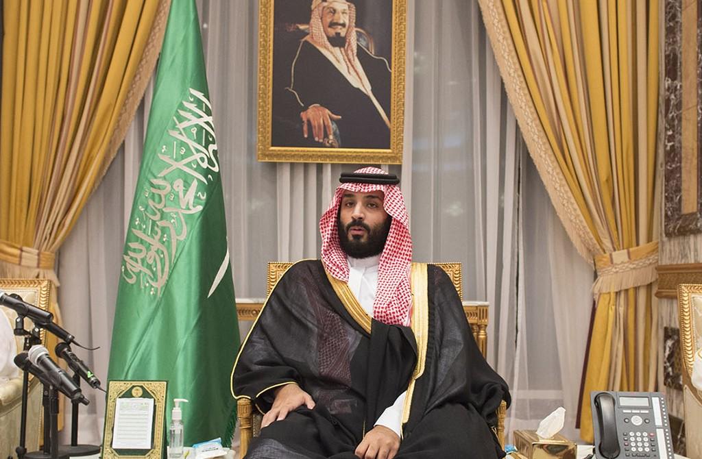 Saudi crown prince Mohammad bin Salman al-Saud