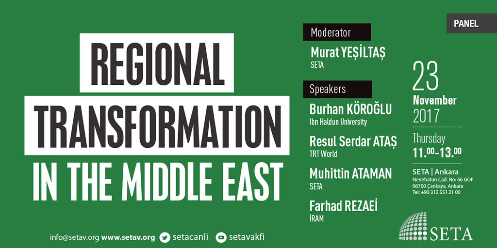 Regional Transformation in the Middle East