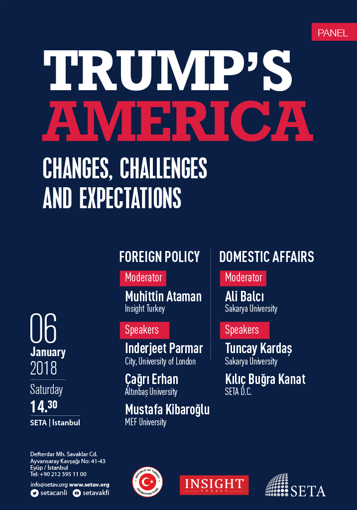 Trump's America: Changes, Challenges and Expectations