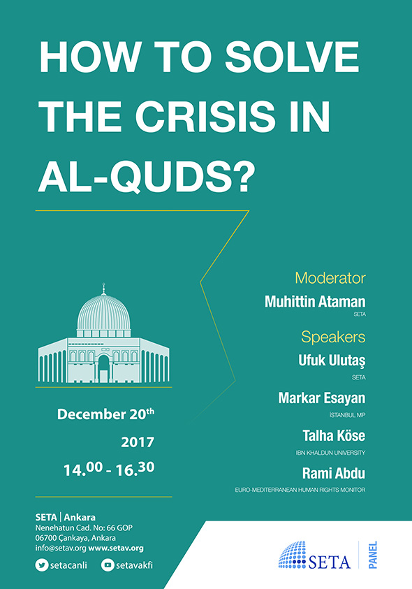 How to Solve the Crisis in Al-Quds?