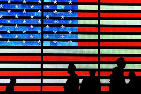 U.S.A. Flag Led