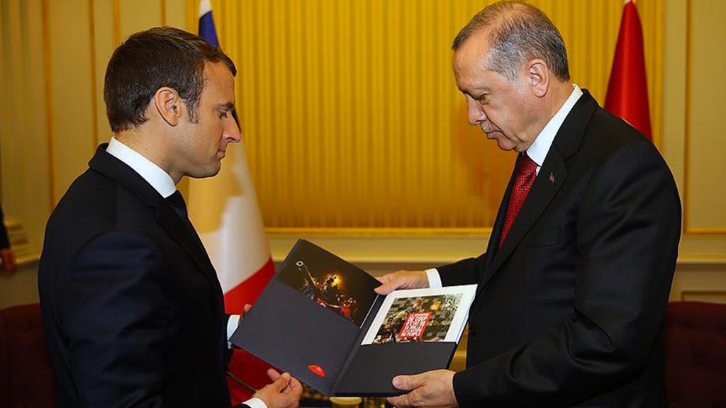 Macron - Erdoğan