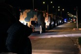 A Turkish military convoy is being dispatched to the Syrian border