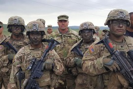 U.S. soldiers in Syria