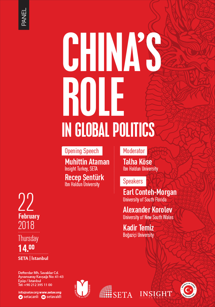 Panel: China's Role in Global Politics