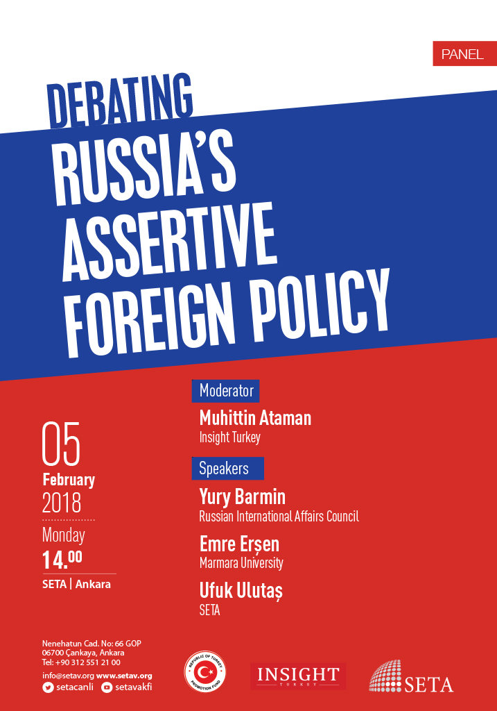 Panel: Debating Russia's Assertive Foreign Policy
