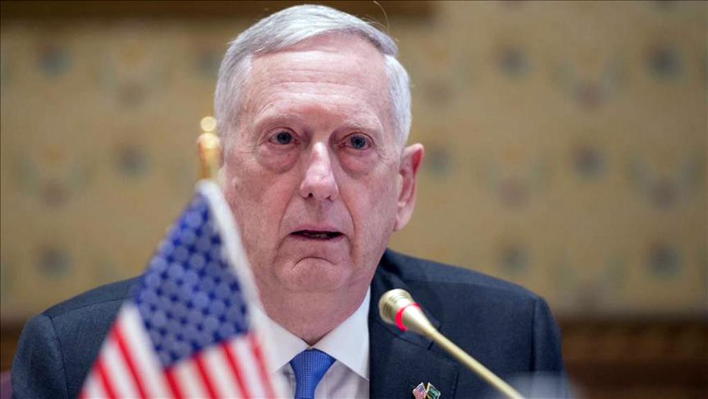 U.S. Defense Secretary Jim Mattis