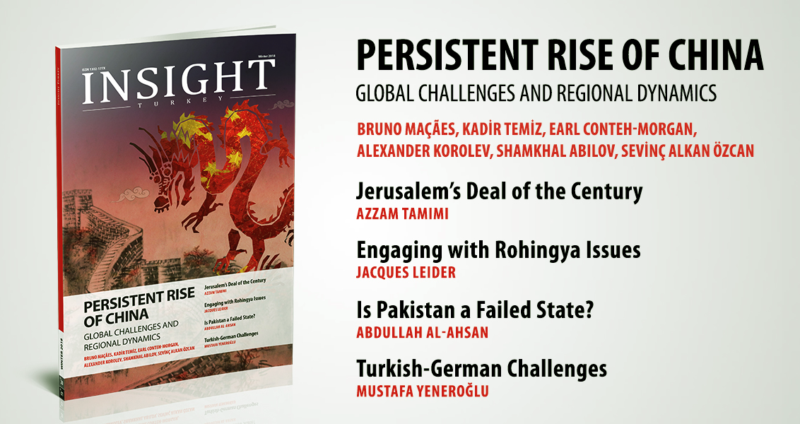 """Persistence Rise of China"" –  Insight Turkey"