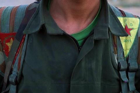 A PKK/YPG terrorist in Syria