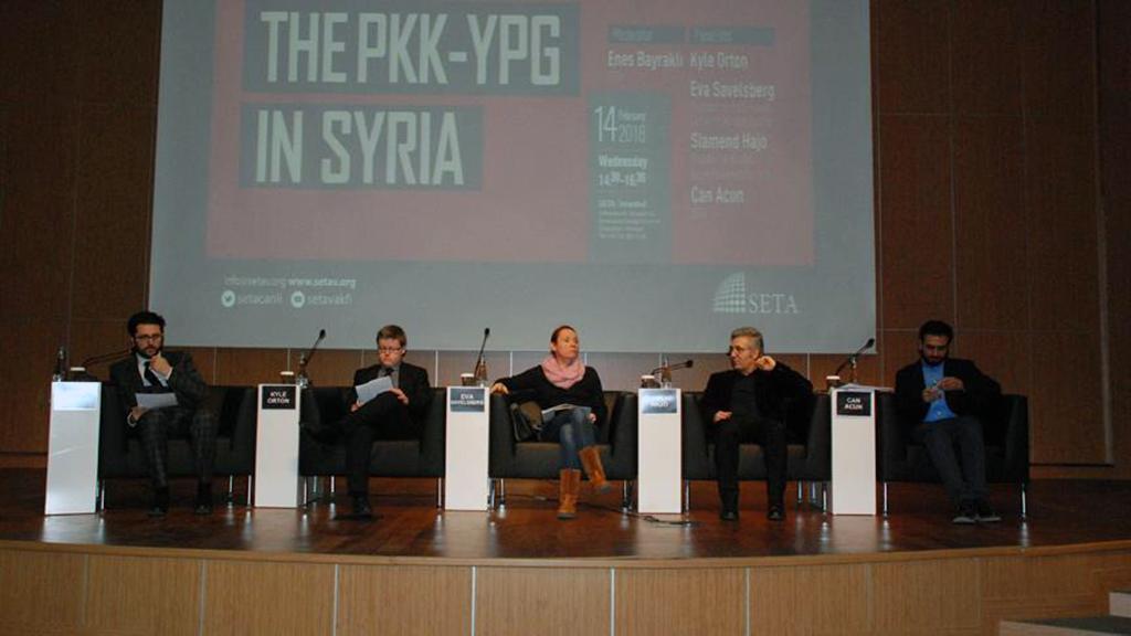 The PKK-YPG in Syria