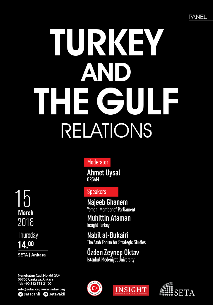 Panel: Turkey and the Gulf Relations