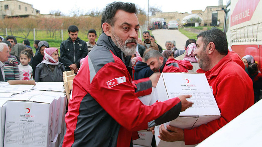 Syria  - Afrin, Turkish Red Crescent