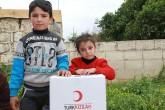 Syrian children - Afrin, Turkish Red Crescent