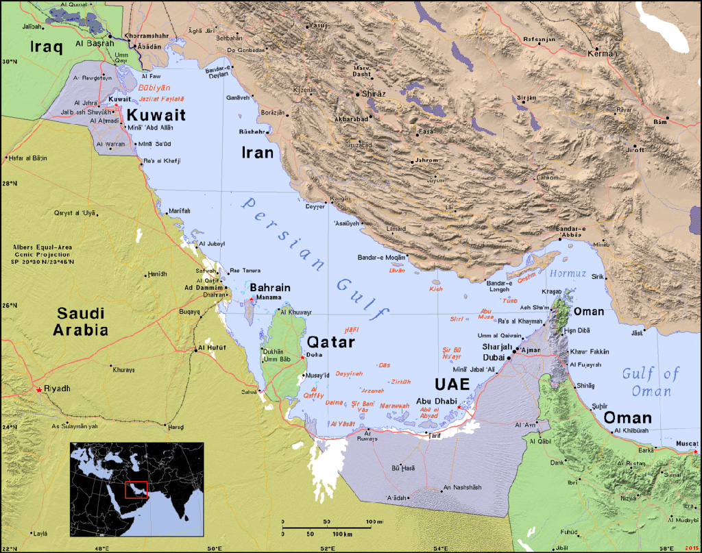 Political crisis in the Gulf