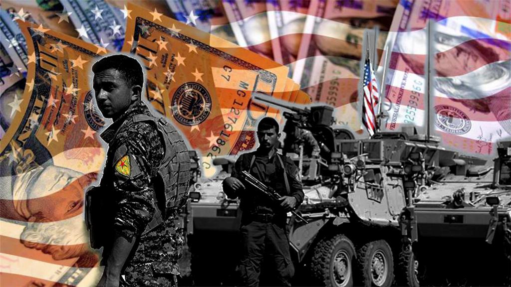 U.S. armed YPG terrorists