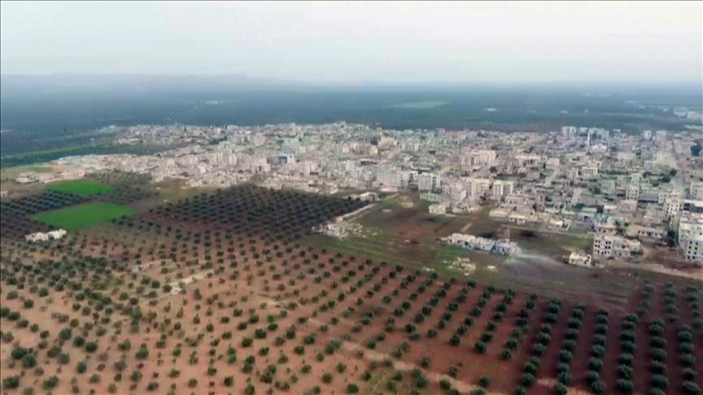 Afrin's Jinderes town