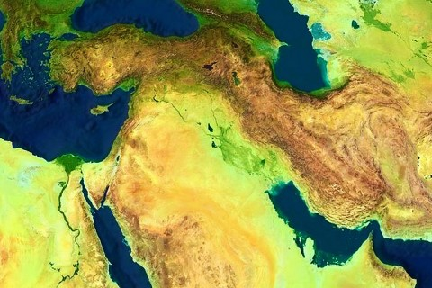 Turkey - Middle East Map