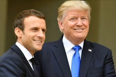 Macron - Trump