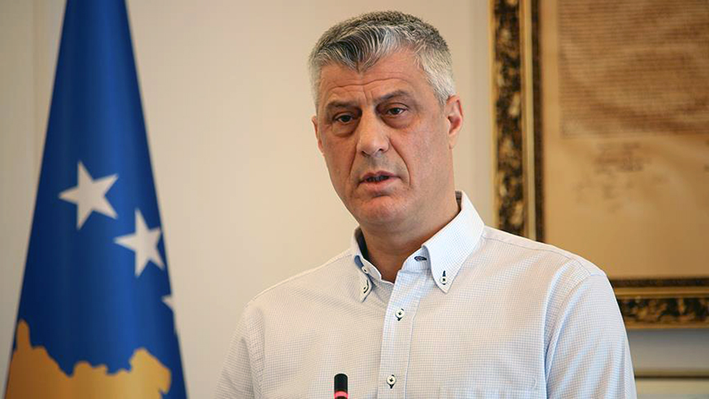 Hashim Thaçi - President of the Republic of Kosovo