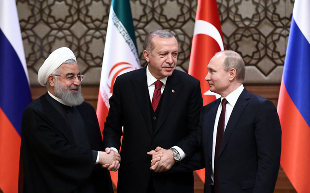 West responsible for Turkey's partnership with Russia, Iran in Syria