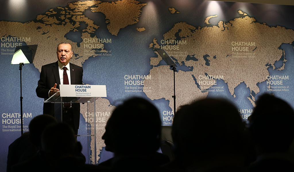 Recep Tayyip Erdoğan - Chatham House