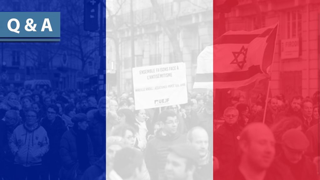 "5 Questions: The French Manifesto against the ""New Anti-Semitism"""