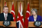 Recep Tayyip Erdoğan - Theresa May
