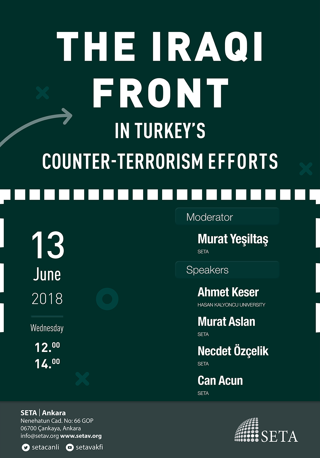 Panel: The Iraqi Front in Turkey's Counter-Terrorism Efforts
