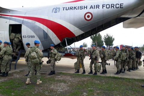 Turkish Air Force - Syria