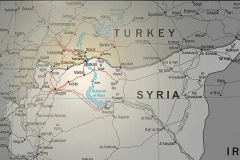 Syria Map - Manbij