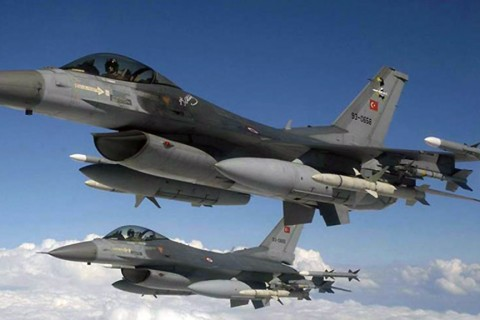 Turkish military jets