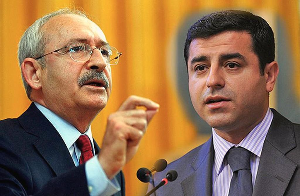 Demirtaş - Kılıçdaroğlu
