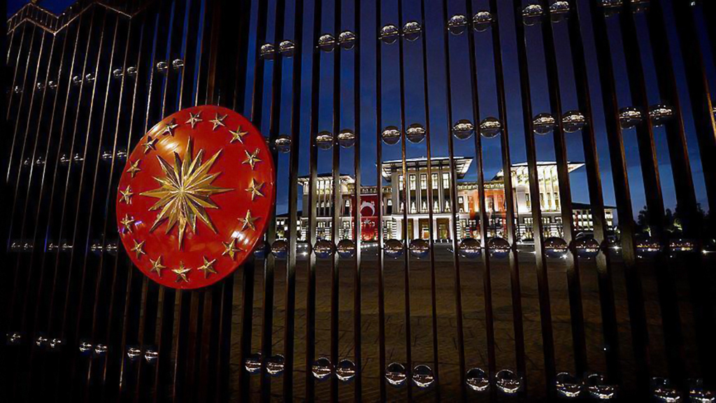 The Presidential Complex (Turkish: Cumhurbaşkanlığı Külliyesi) is the presidential palace of the Republic of Turkey.