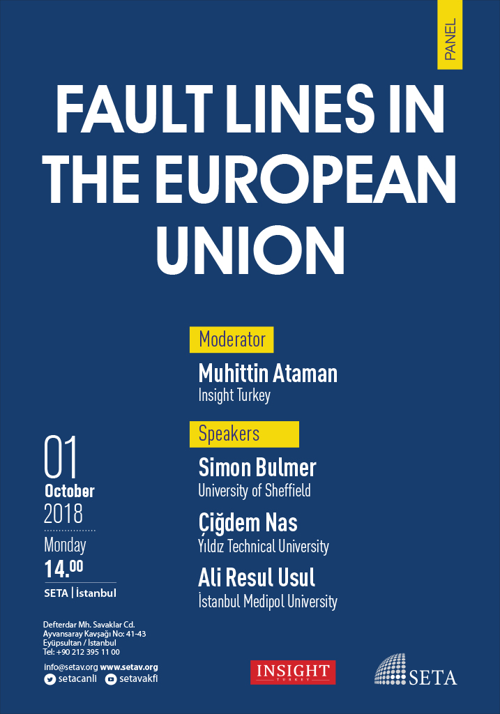 Panel: Fault Lines in the European Union