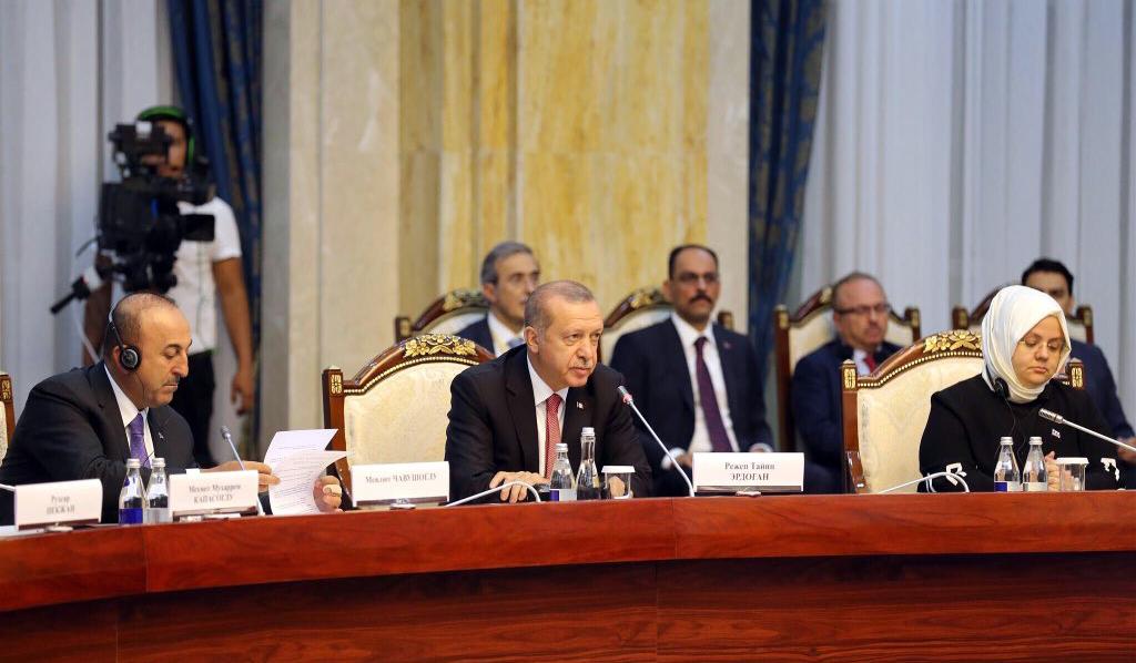 Erdoğan's warning on FETÖ threat in Kyrgyzstan