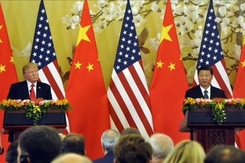 US president Donald Trump and Chinese counterpart Xi Jinping
