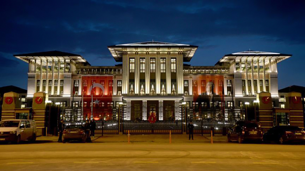 The Turkish Presidential Complex