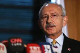 Turkey's main opposition Republican People's Party (CHP) chairman Kemal Kılıçdaroğlu