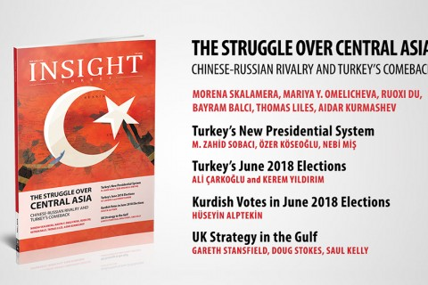 "Insight Turkey Publishes Its Latest Issue ""The Struggle over Central Asia Chinese-Russian Rivalry and Turkey's Comeback"""